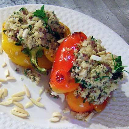 Mediterranean-Stuffed-Peppers