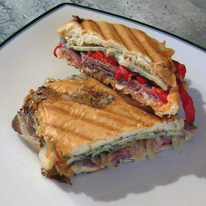 Roast-Beef-Panini