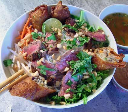 Vietnamese Shrimp Noodle Salad