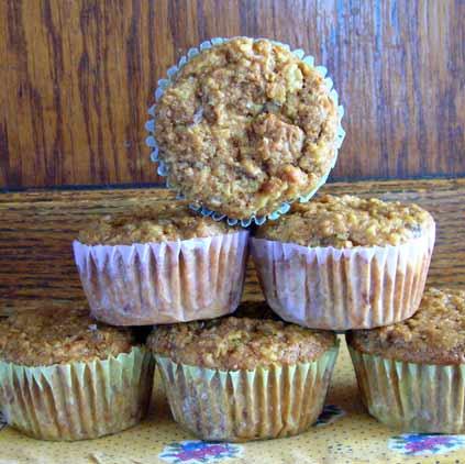 Pineapple-Bran-Muffins