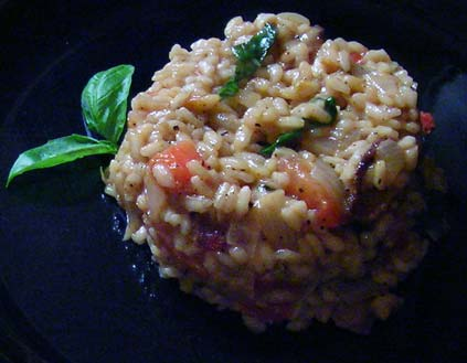 Bacon-a-Tomato-Risotto