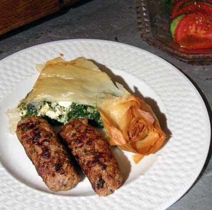 Spanikopeta-w-Lamb-Sausage