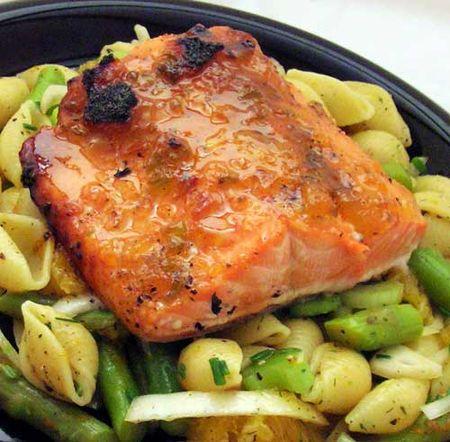 Salmon-on-Orange-Pasta-Salad
