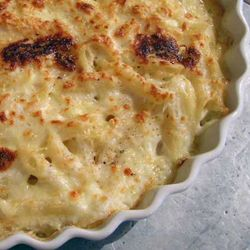 Baked-Pasta-w-Bechamel-and-Parm-1