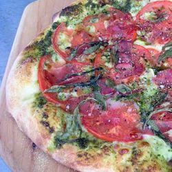 Pizza-con-Prosciutto-Cotto