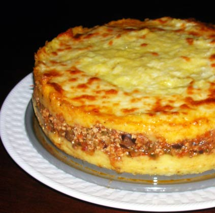 Polenta And Sausage Pie Recipes — Dishmaps