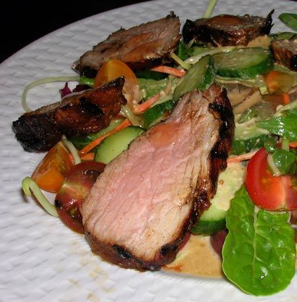 Pork-Tenderloin-Salad
