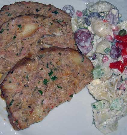 Sausage-Meatloaf-w-Lemon-a-Parmesan