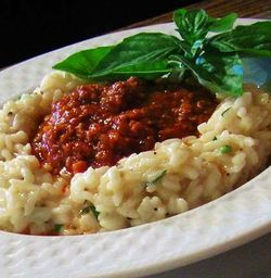 Bolognese-with-Risotto