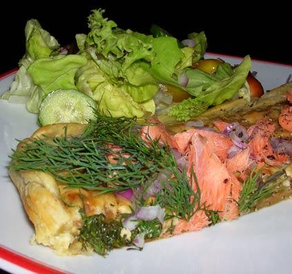 Smoked-Salmon-Tart