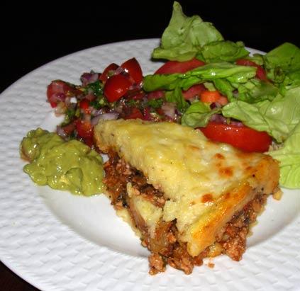 Polenta-Tamale-Pie