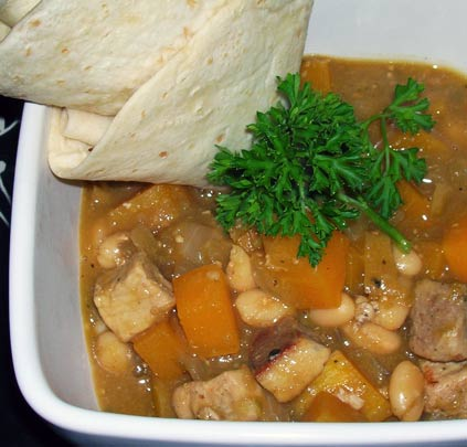 Pork-Pumpkin-White-Bean-Chili