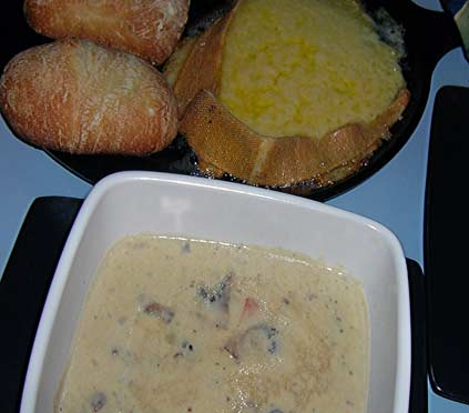 Bacon-Potato-Mushroom-Soup-w-Raclette