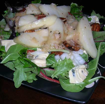 Pear-Gorgonzola-Salad-w-Shallot-Vinaigrette