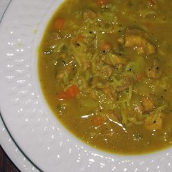 Chicken-Rice-Soup-with-Curry