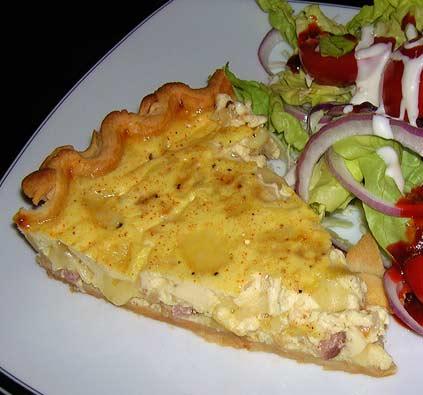 Ham-and-Cheese-Quiche