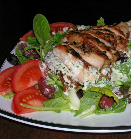 Grilled-Chicken-Salad-w-Tzatziki-Sauce