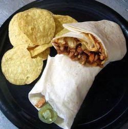 BBQ-Pork-Burrito