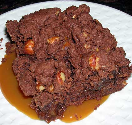 Chewy-Caramel-Brownies