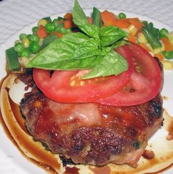 Prosciutto-Crusted-Burgers