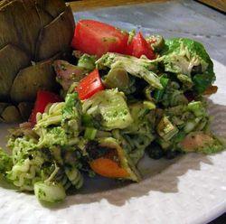Chicken-Pasta-Salad-with-Pesto