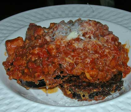 Eggplant-with-Meat-Ragu