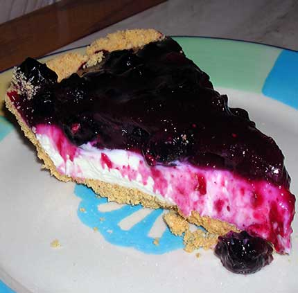 Blueberry-Cream-Pie