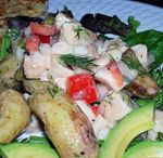 Chicken-Salad-with-Potatoes-and-Dill