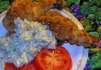 Buttermilk-Oven-Fried-Chicken