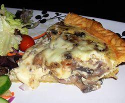 Mushroom-and-Fontina-Quiche