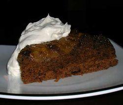 Pear-Upsidedown-Gingerbread