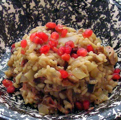 Mushroom-Risotto-with-Duck