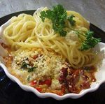 Clams-Casino-with-Lemon-Spaghetti