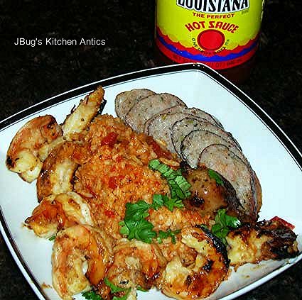Grilled-Shrimp-and-Sausage-with-Red-Rice