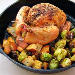 Roast-Chicken-on-Croutons