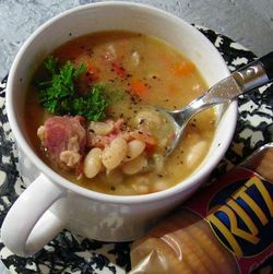 White-Bean-Soup-with-Ham
