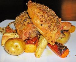 Oven-Roasted-Chicken-Thighs-with-Vegetables
