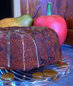 Apple-Pear-Hazelnut-Cake