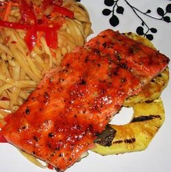 Pineapple-Teriyaki-Salmon