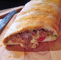 Mexican-Stromboli