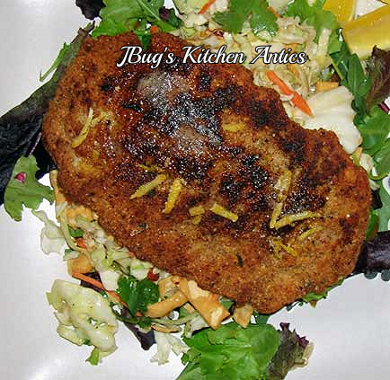 Almond-Crusted-Halibut