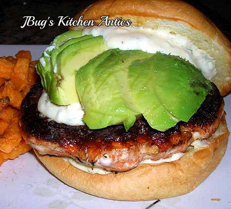 Salmon-Burger-with-Herb-Aioli