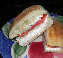 Salmon-Ciabatta