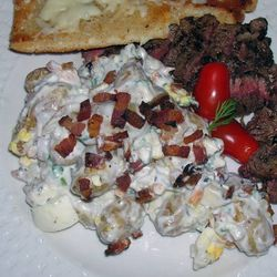 Bacon-a-Blue-Potato-Salad