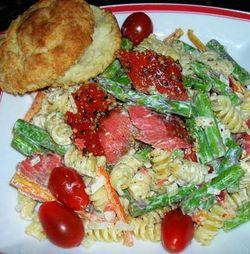 Pasta-Salad-Smoked-Salmon-Asparagus