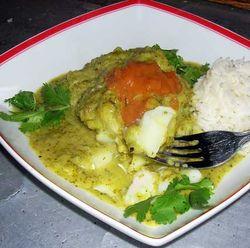 Fish-baked-in-fresh-green-salsa