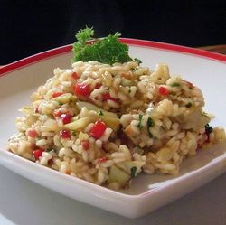 Risotto-with-Artichoke-Hearts-a-Pancetta