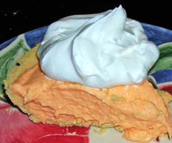 Orange Push Up Pie