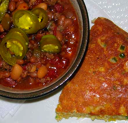 Cowboy-Beans-and-Cornbread