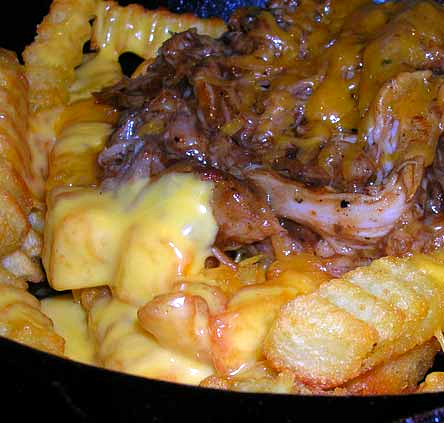 Pulled-pork-on-cheese-fries